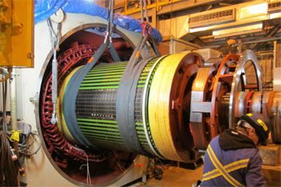 Gen Rotor install